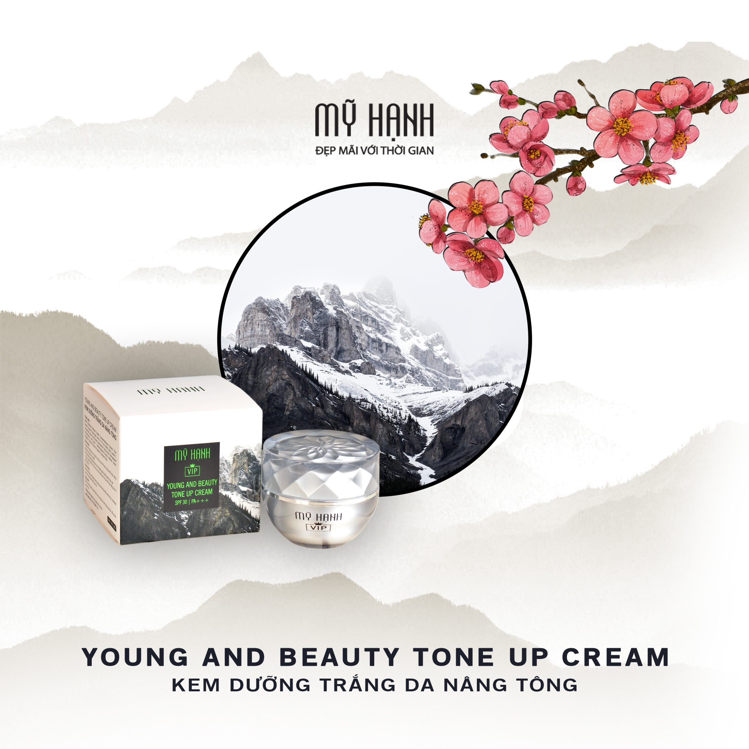YOUNG AND BEAUTY TONE UP CREAM